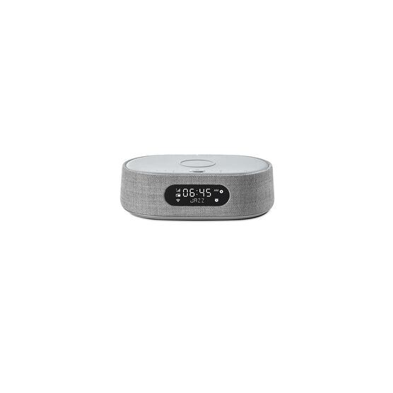 Harman Kardon Citation Oasis DAB - Grey - Voice-controlled speaker with DAB/DAB+ radio and wireless phone charging - Front