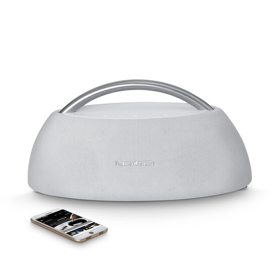 Go + Play - White - Portable Bluetooth Speaker - Detailshot 1
