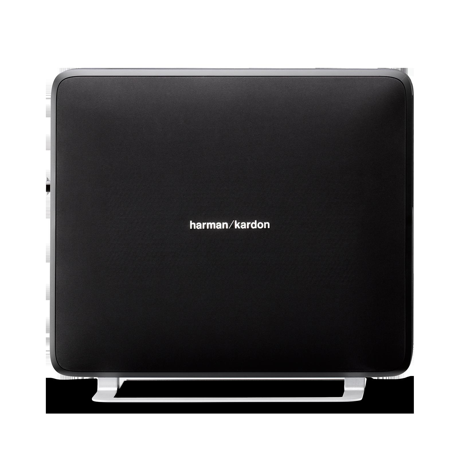 Sabre SB 35 - Black - Devastatingly slim home entertainment soundbar with compact subwoofer. - Front