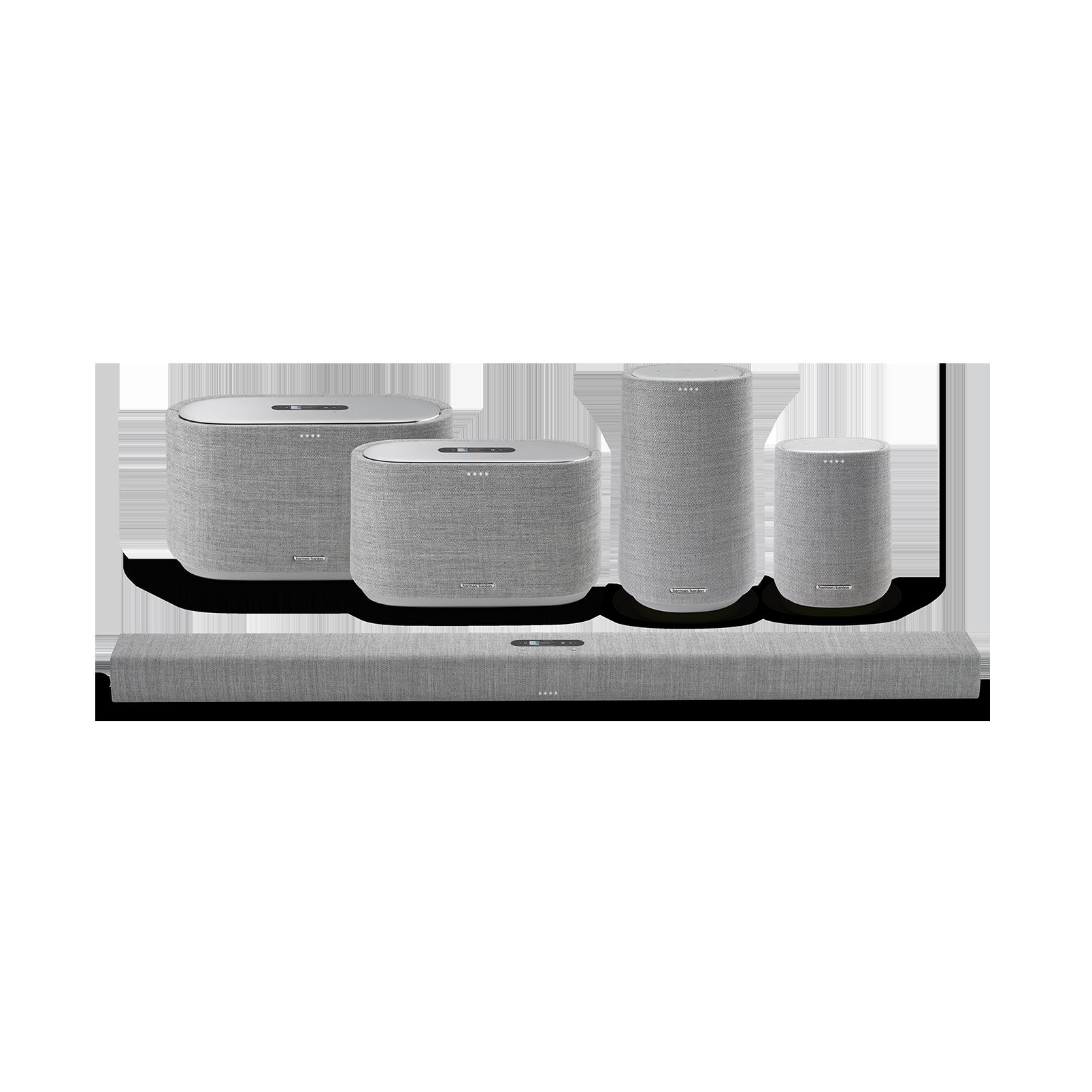 Harman Kardon Citation 500 - Grey - Large Tabletop Smart Home Loudspeaker System - Detailshot 5