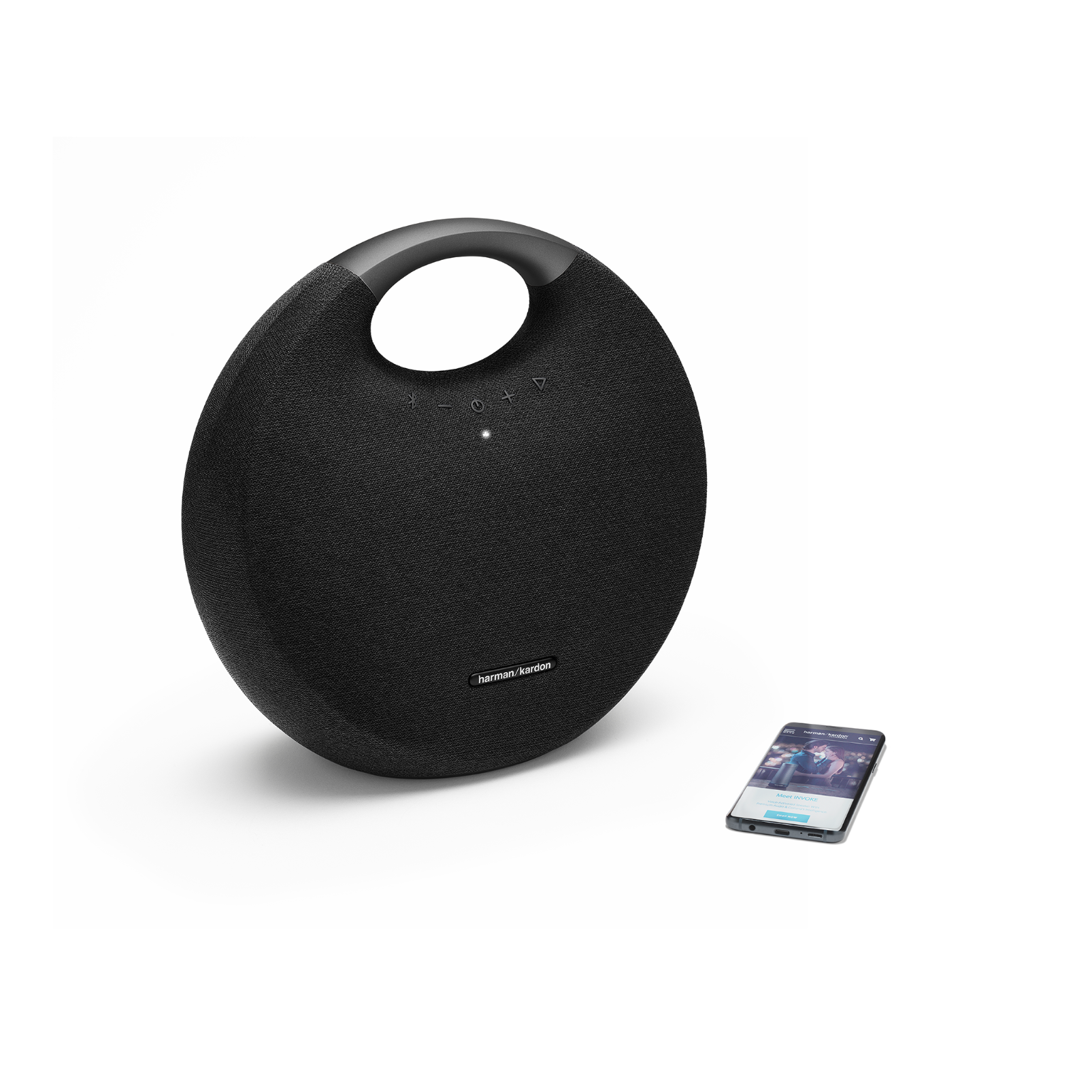 Onyx Studio 6 - Black - Portable Bluetooth speaker - Detailshot 1