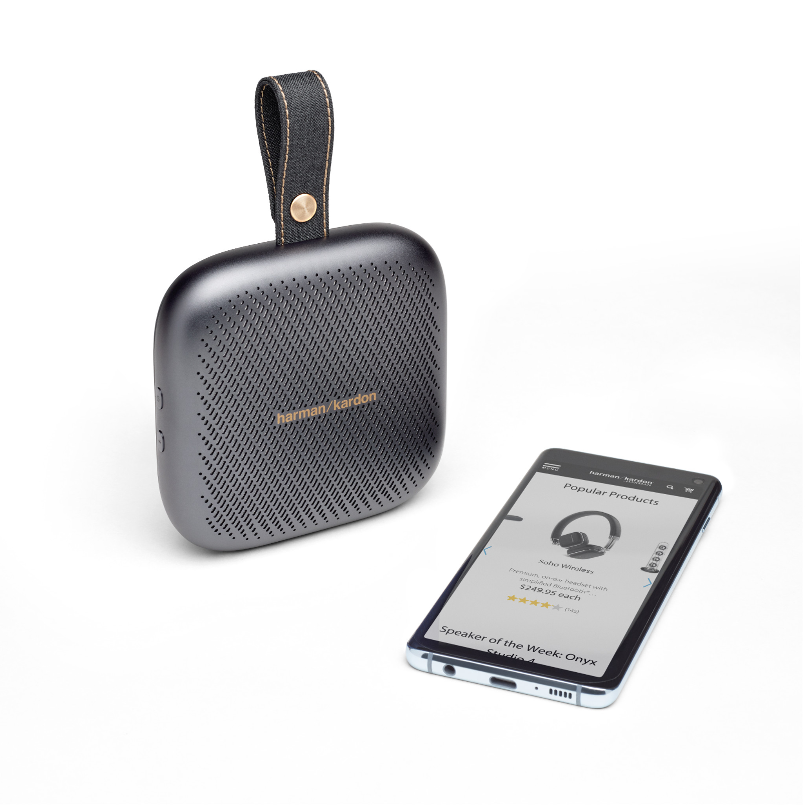 Harman Kardon Neo - Space Gray - Portable Bluetooth speaker - Detailshot 1